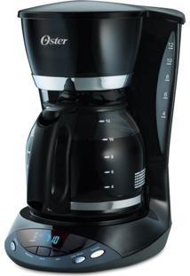 Cafeteira Oster Programável Black 36 Xicaras 127V Preta 900W De Potên