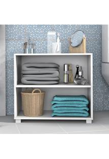 Armário De Banheiro 1 Prateleira Bbn63 Branco - Brv Móveis