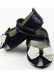 Sapato Rech Baby - Feminino-Azul