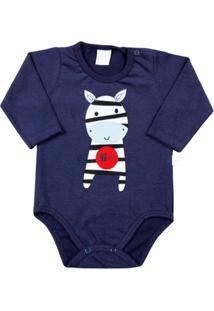 Body De Bebê Malhão Zebrinha - Feminino