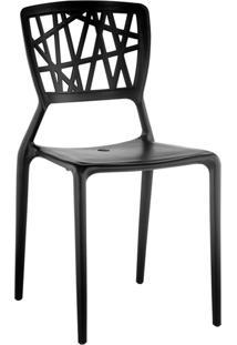 Cadeira Pp Melissa-Rivatti - Preto