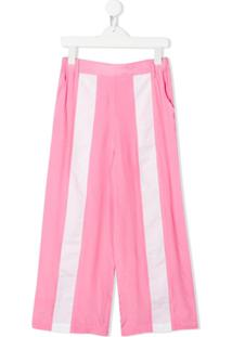 Marni Kids Calça Pantalona - Rosa