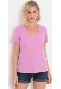 Camiseta Lisa- Lilás- Colccicolcci