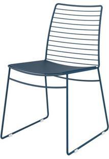 Cadeira 1712 Cor Amarela Com Assento Courissimo Amarelo - 27678 - Sun House