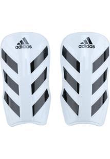Caneleira De Futebol Adidas Everlesto - Adulto - Branco/Preto