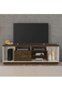 Rack Para Tv 1 Porta Adria 500122 Off White/Savana - Madetec