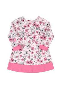 Vestido Em Cotton Quimby Rosa