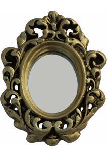 Espelho Casa Da Mãe Joana Asti Dourado