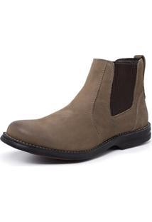 Bota Confort Sandalo Caqui