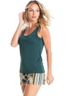 Pijama Curto Regata Estampado Clara