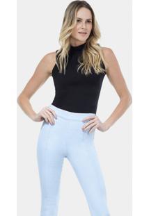 Calça Jegging Hot Pant Cropped Jeans - Lez A Lez