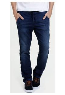 Calça Masculina Moletinho Jeans Marisa