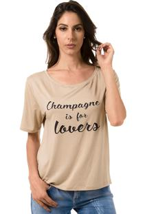 T-Shirt Champagne Bloom Is For Lovers