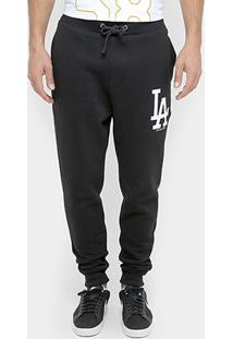 Calça New Era Mlb Rib Team 62 Los Angeles Dodgers - Masculino