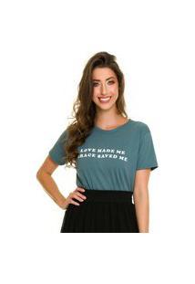 T-Shirt Jogabe Estampada Verde