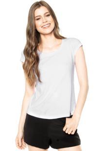 Camiseta Polo Wear Bordado Branca