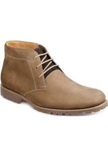 Bota Casual Desert Masculina Sandro Moscoloni Isaac Bege Rato