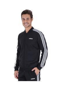 Agasalho Adidas Back 2 Basic 3S Track - Masculino - Preto