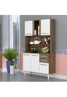 Cozinha Compacta Branca 6 Pt 2 Gv Dakota E Branca