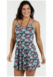 caf991026 Vestido Feminino Saída De Praia Estampado Marisa