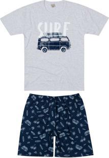 Pijama Masculino Curto Malwee 1000083418 40000-Cin