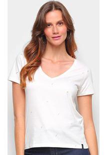 Camiseta Cantão Baby Look Mini Raio Feminina - Feminino