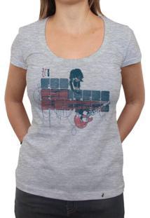 Foo Fighters - Camiseta Clássica Feminina