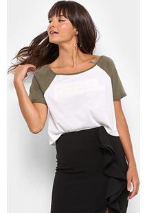 Camiseta Drezzup Estampa Eva Feminina - Feminino