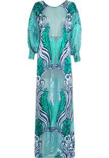 Vestido Jaspe - Verde