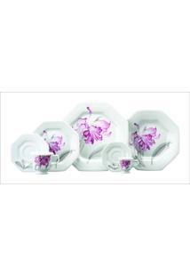 Saladeira Schmidt - Dec. Orquídea