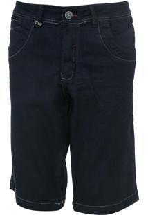 Bermuda Jeans Zune Reta Lisa Azul - Kanui