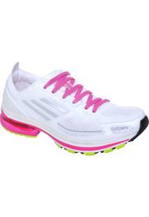 Tenis Fem Adidas Adizero F50 G41415 Branco/Pink