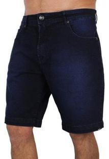Bermuda Jeans Mcd Slim Pure Indigo - Masculino-Marinho