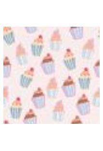 Papel De Parede Autocolante Rolo 0,58 X 3M - Cupcake Doces Cozinha 286294085