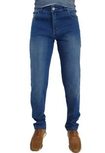 Calça Jeans Aero Jeans Reta Azul