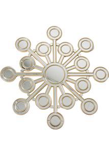 Espelho Decorativo Contemporâneo De Parede Wheel