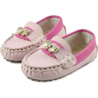 842b239233 Mocassim Para Menina Rosa infantil