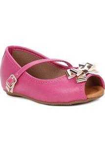 Sapato Para Bebe Menina - Rosa Pink