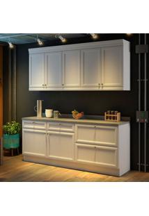 Cozinha Americana Completa - 4 Peças - 500221 - Branco - Nesher