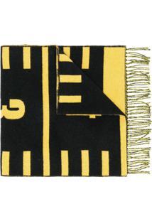 Henrik Vibskov Cachecol '8 Centimeter' - Amarelo