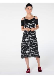 Vestido Slip Grafites