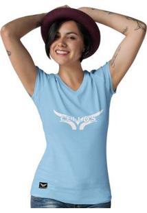 Camiseta Gola V Cellos Street Premium Feminina - Feminino