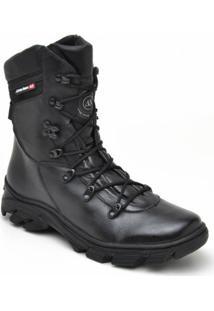 d5b7cf0bb4 Bota Motociclista Atron Shoes Cano Medio Lisa - Masculino