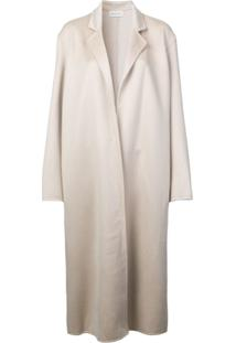 Mansur Gavriel Narrow Oversized Coat - Nude   Neutrals 077c1e7125