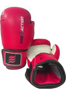 Luva De Boxe E Muay Thai Profissional 12Oz Proaction F011 - Unissex