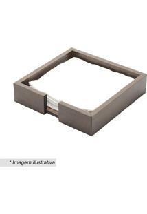 Porta Guardanapo Woodart- Marrom Escuro- 4,5X20X20Cmrojemac