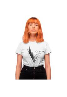 Camiseta Feminina Mirat Florest Branca