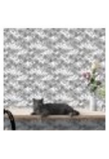 Papel De Parede Autocolante Rolo 0,58 X 3M - Folhas Galhos 264193652