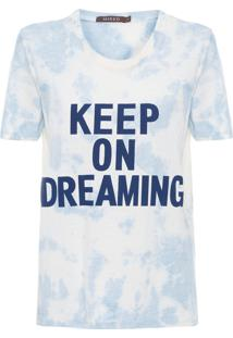 Camiseta Feminina Tie Blue - Azul