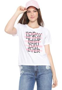 Camiseta Calvin Klein Jeans Best Day Branca